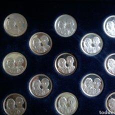 Material numismático: LAS ARRAS DE LA BODA REAL ( PLATA FINA 999/000 ). Lote 161942722