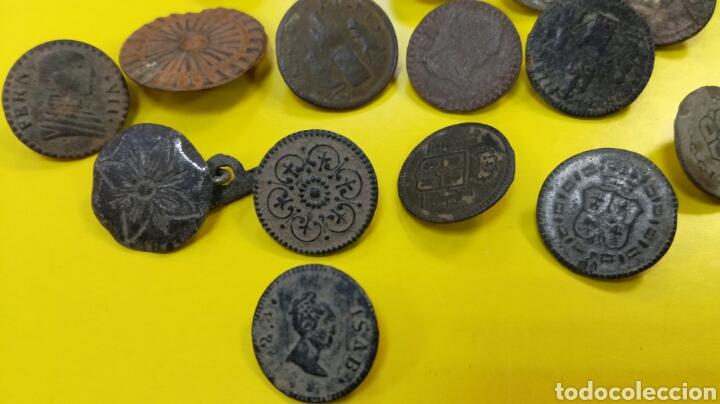 BOTONES (Numismática - Material Numismático)
