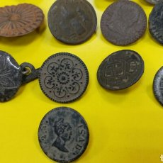 Material numismático: BOTONES. Lote 164717870