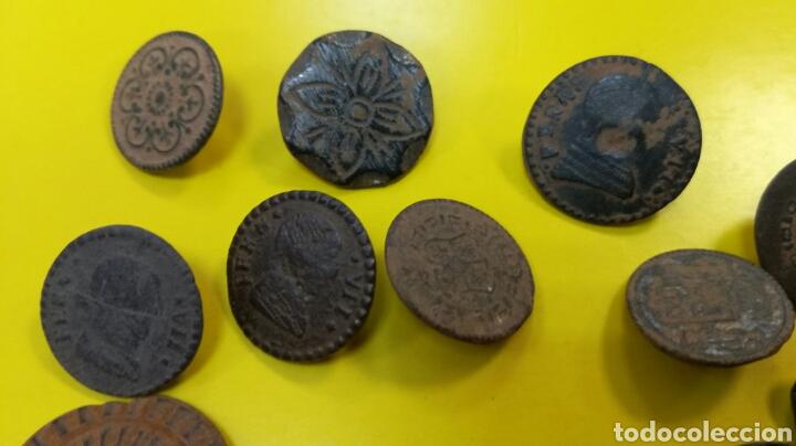 Material numismático: Botones - Foto 4 - 164717870