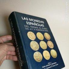 Material numismático: LAS MONEDAS ESPAÑOLAS DEL TREMIS AL EURO DEL 411 A NUESTROS DIAS VOL. I EDAD ANTIGUA Y MODERNA CAYON. Lote 168365144
