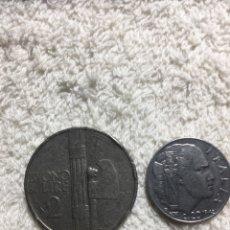 Material numismático: ITALIA 1924-1942. Lote 171071724