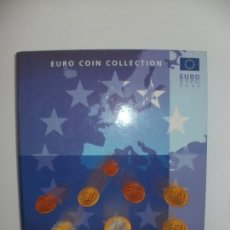 Material numismático: ALBUM VACIO PARA COLECCION DE EUROS EURO COIN COLLECTION 2002 MONEYNOTES. Lote 171511808