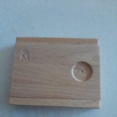 Material numismático: FNMT CAJA MADERA DE MONEDAS. Lote 174130220