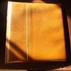 Material numismático: ALBUM DE PORTAMONEDAS CON CINCO HOJAS DE DIFERENTES MEDIDAS . Lote 174667978