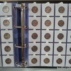 Material numismático: 100 HOJAS, BBB- DE 20 DEPARTAMENTOS, PARA CARTONES DE MONEDAS.. Lote 199673807