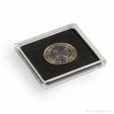 Material numismático: CÁPSULAS QUADRUM DE 50X50MM. DIÁMETRO A ELEGIR. Lote 175632299