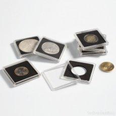 Material numismático: CÁPSULAS QUADRUM DE 50X50MM. PARA GUARDAR DIVERSOS MÓDULOS DE MONEDAS EN UN SOLO SISTEMA.D.20MM. Lote 207664541