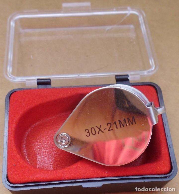 Material numismático: LUPA 30X-21MM QUE SI QUIERES LA PUEDES HACER LLAVERO MIRA LAS FOTOS - Foto 4 - 176425489