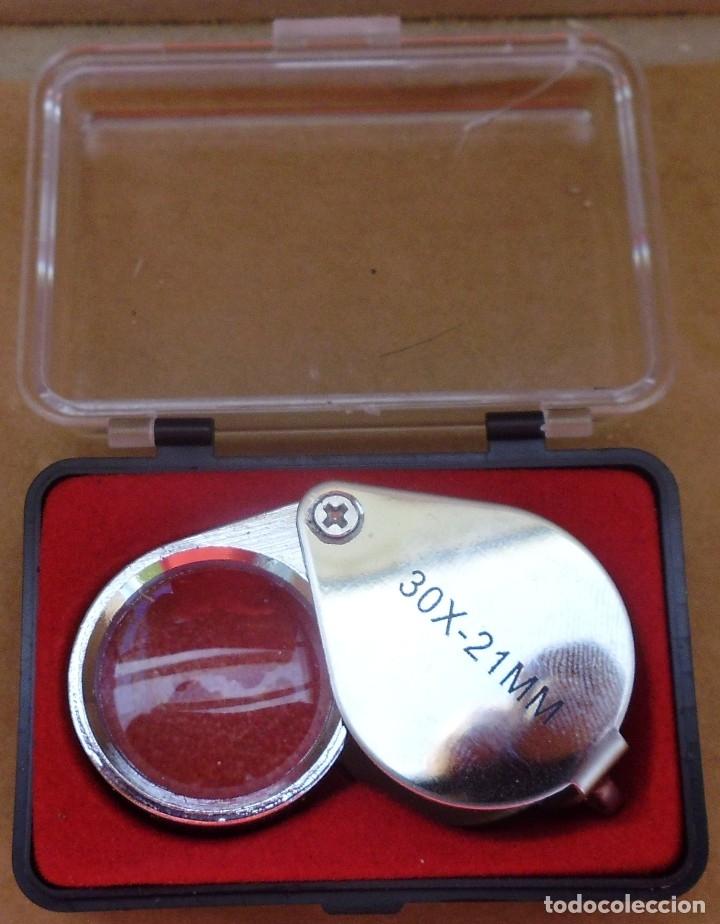 Material numismático: LUPA 30X-21MM QUE SI QUIERES LA PUEDES HACER LLAVERO MIRA LAS FOTOS - Foto 2 - 176425489