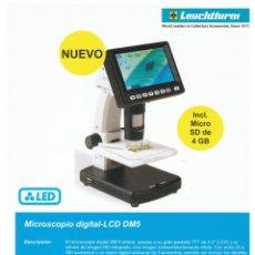 Material numismático: MICROSCÓPIO DIGITAL-LCD DM5. INCLUYE MICRO SD DE 4 GB. TAMAÑO: 230X125X149MM.. Lote 177861289