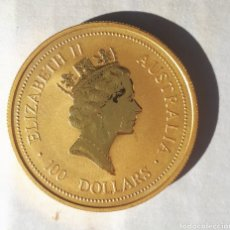 Matériel numismatique: MONEDA DE ORO 100 DÓLARES AUSTRALIA 1994. Lote 178083253