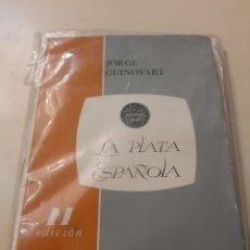 Material numismático: 1972 II EDICION MONEDAS PLATA ESPAÑOLA JORGE GUINOVART BARCELONA. Lote 178723233