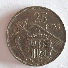 Material numismático: MONEDA 25 PESETAS 1957 - *70 - MBC/VF. Lote 221831948
