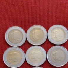 Material numismático: LOTE 8 MONEDAS 2 EUROS CONMEMORATIVOS PAÍSES BAJOS 2013. Lote 181994108