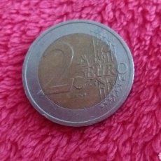 Material numismático: ERROR 2 EUROS AUSTRIA 2002 SOBRANTE DE METAL. Lote 182011746