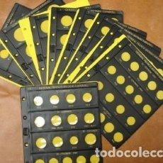Material numismático: ALBUM BBB* NUMIS ESTADO ESPAÑOL (FRANCO); CON FUNDA CAJETÍN + JUEGO HOJAS COMPLETO. Lote 211471976