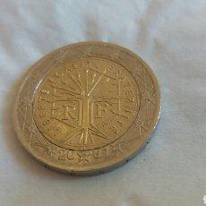 Material numismático: ERROR 2 EUROS FRANCIA 2001. Lote 182068102