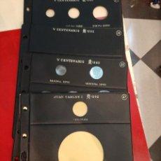 Material numismático: HOJAS MONEDAS PARDO 1990/1992. Lote 189120272
