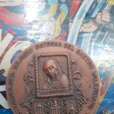 Material numismático: MEDALLA CONMEMORATIVA,RASTRO DE VALENCIA. Lote 191896817