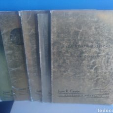 Material numismático: LOTE 5 CATALOGOS VENTA PUBLICA. MONEDAS Y MEDALLAS.. Lote 192551280