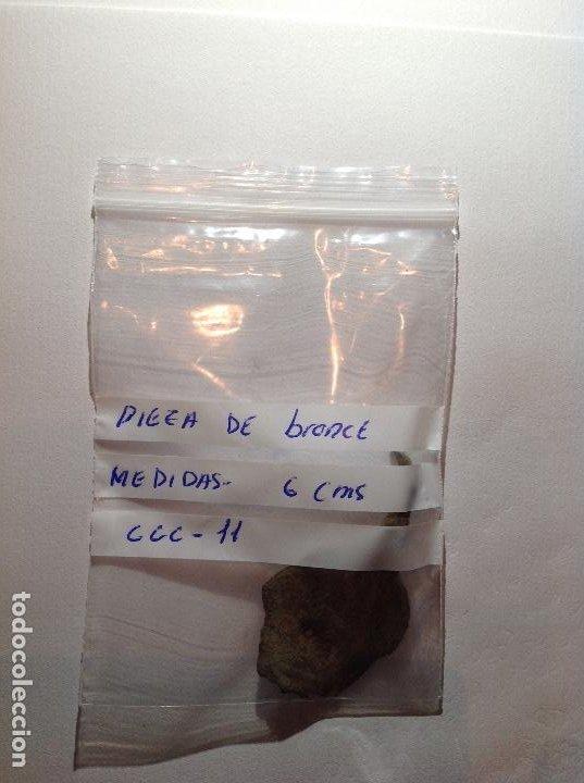 PIEZA DE BRONCE CCC-11 (Numismática - Material Numismático)