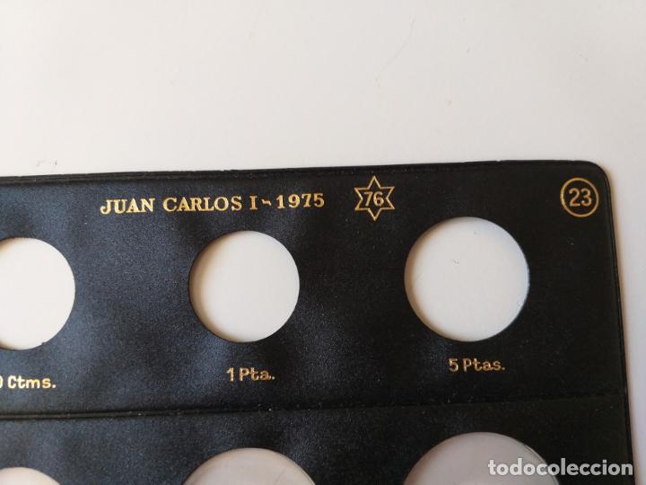 Material numismático: HOJA DE MONEDAS PARDO JUAN CARLOS I. AÑO 1975. *76-77-78 - Foto 4 - 194595643