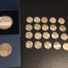 Material numismático: LOTE MONEDAS DE PLATA: 2000 PESETAS, MONEDA DE TOLEDO Y DE SEGOVIA. Lote 195038558