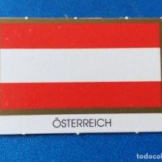 Material numismático: BANDERA DE OSTERREICH, AUSTRIA. PARA HOJA DE MONEDAS DE EURO. Lote 195120396