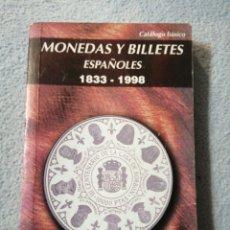 Material numismático: MONEDAS Y BILLETES ESPAÑOLES 1998 PÁGINAS 240. Lote 197260143