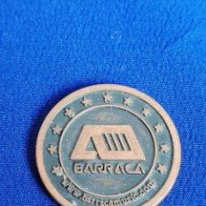 Material numismático: MONEDA DISCOTECA BARRACA VALENCIA (RUTA DEL BACALAO). Lote 197852530