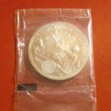 Material numismático: 2 MONEDAS DE 2000 PESETAS DE PLATA 2001 ÚLTIMA EMISIÓN DE LA PESETA. Lote 198044178