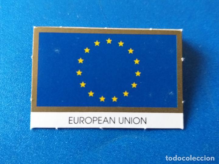 BANDERA DE LA UNIÓN EUROPEA, PARA HOJA DE MONEDAS DE EURO (Numismática - Material Numismático)