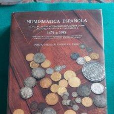 Materiale numismatico: NUMISMATICA ESPAÑOLA CALICO 1988 CATÁLOGO. Lote 199221792