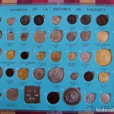 Material numismático: FABULOSA COLECCIÓN COMPLETA DE MONEDAS EN LA HISTORIA DE LAS BALEARES . BUEN ESTADO. . Lote 199778862