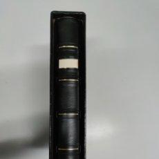 Material numismático: ÁLBUM PARDO PARA COLECCIONAR MONEDAS. Lote 199895530