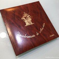 Material numismático: ALBUM FILABO PARA MONEDAS DEL DESCUBRIMIENTO DE AMERICA. Lote 201168801