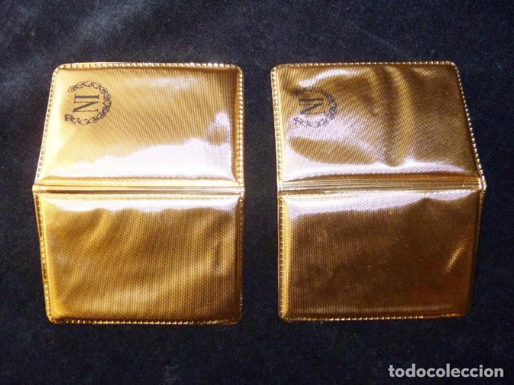 Material numismático: LOTE DE DOS CARTERAS VACIAS NUMISMÁTICA IBERIA, S.A., CON CERTIFICADO GARANTIA MONEDAS ORO DE 3,5 gr - Foto 5 - 202555996