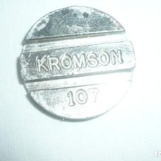 Material numismático: FICHA KROMSON Nº 107 PARA TELÉFONO. Lote 204191896