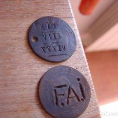 Material numismático: HA SALIDO EN UN LOTE DE MONEDAS DE COBRE.. Lote 205672470