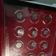 Material numismático: ARCHIVADOR PLANETA D'AGOSTINI, DE AGOSTINI CON 15 MONEDAS. Lote 205862005