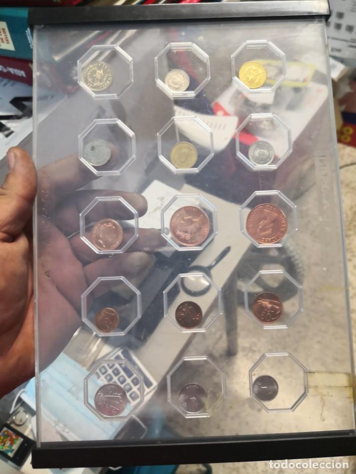 ARCHIVADOR PLANETA D'AGOSTINI, DE AGOSTINI CON 15 MONEDAS (Numismática - Material Numismático)