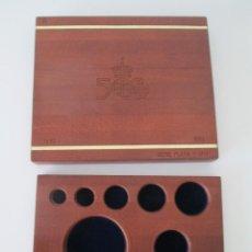 Material numismático: ESTUCHE VACIO PARA LA SERIE DE ORO Y PLATA * QUINTO CENTENARIO. Lote 206480635