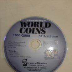 Material numismático: CATÁLOGO MONEDAS WORLD COINS 1901/2000. Lote 206972130