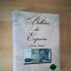Material numismático: BILLETES DE ESPAÑA (1783-2002). FILABO.. Lote 208065985