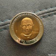 Material numismático: MONEDA DE 10 EUROS AÑO 2006 PRUEBA BENEDICTO XVI. Lote 208783681