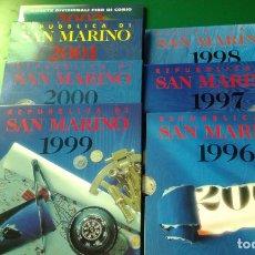 Material numismático: CARTERAS DE SAN MARINO VACIAS VARIOS AÑOS. Lote 208847610