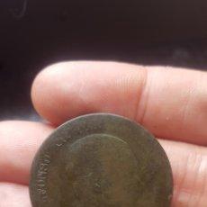 Material numismático: 10 CENTIMOS DE PESETA ALFONSO XII AÑO 1877 BARCELONA OM. Lote 209760665