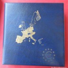 Material numismático: ALBUM CON 12 HOJAS PARA EUROS. VER FOTOS. SIN USAR.. Lote 210763740