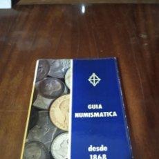 Material numismático: GUÍA NUMISMÁTICA 1968. Lote 211430855